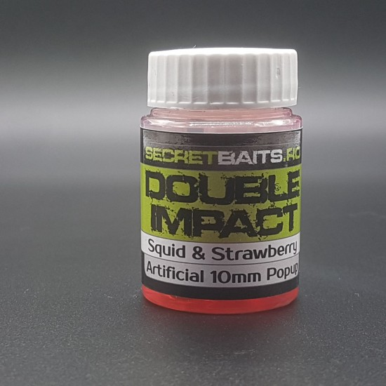 Secret Baits Artificial Popup 10mm Double Impact Flavour