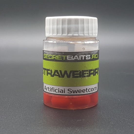 Secret Baits Popup Sweetcorn Strawberry Flavour