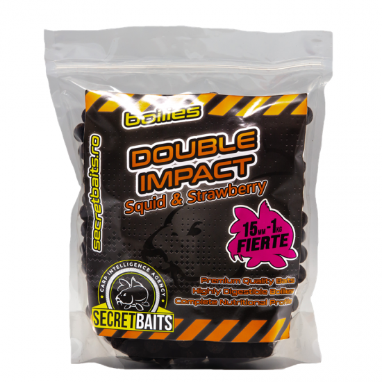 Secret Baits Double Impact Boilies