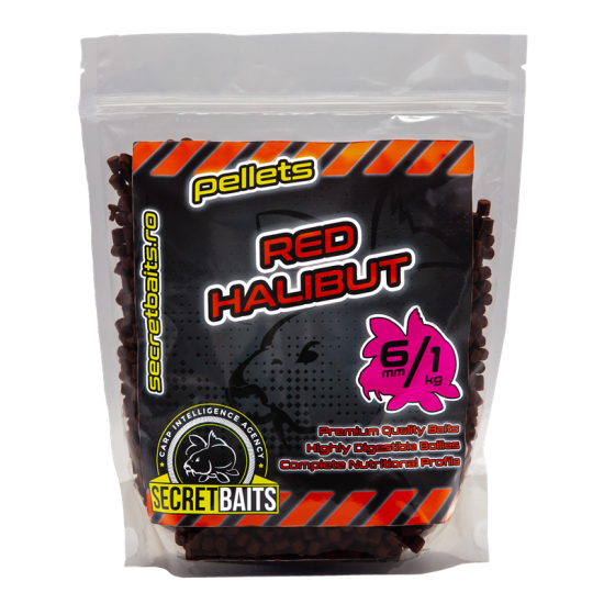 Secret Baits Red Halibut Pellets