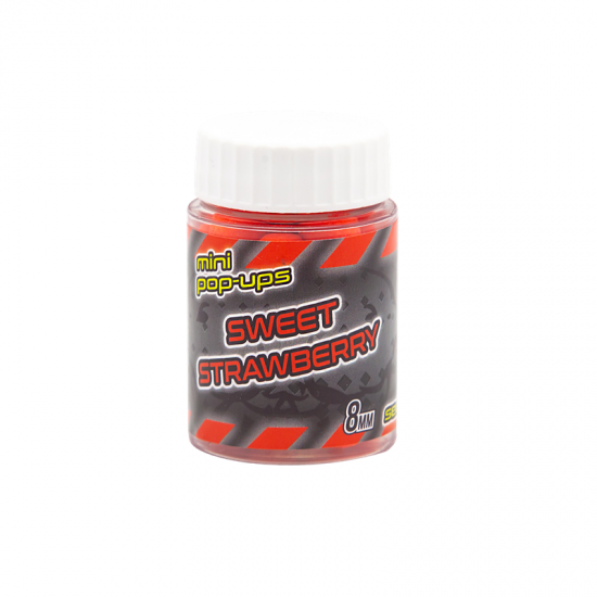 Secret Baits Strawberry Pop-ups 8mm
