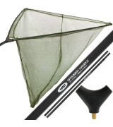 "NGT Deluxe Stalker 42"" Carp Net with Carbon Arms 2pc"