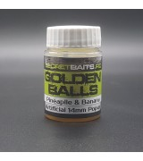 Secret Baits Artificial Popup 10mm Golden Balls Flavour