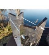 Rollycarp Gun Baits Support Aluminium