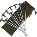 NGT Bivvy Pegs in Case 10 x 30cm