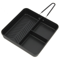 NGT Compact 3 Way Multi Section Frying Pan