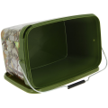 NGT Square Camo Bucket 12.5 L