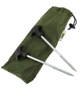 NGT Bivvy Pegs in Case 10 x 20cm