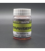 Secret Baits Artificial Popup 14mm Strawberry Flavour